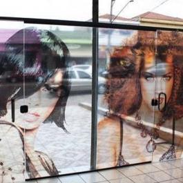 Adesivo Metro Quadrado Transparente  4x0 Brilho