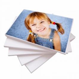 Impressão Colorida Papel Fotográfico 180g A4 4x0 High Gloss