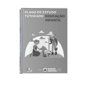 PET - EDUCAÇÃO INFANTIL - VOL. 1 - Preto e Branco AP 75g A4 1x1  Encadernado espiral preto, capa incolor e contra-capa preta 17 páginas