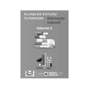 PET - EDUCAÇÃO INFANTIL - VOL. 2 - Preto e Branco AP 75g A4 1x1  Encadernado espiral preto, capa incolor e contra-capa preta 17 páginas